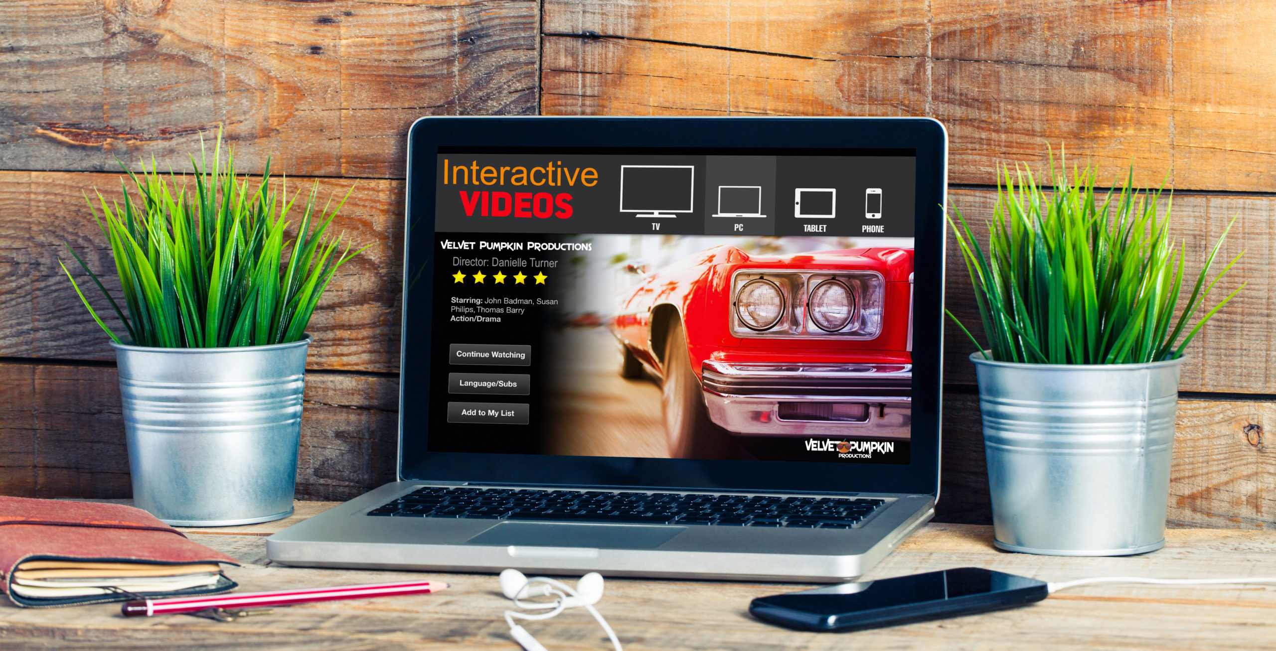 What is an interactive video?